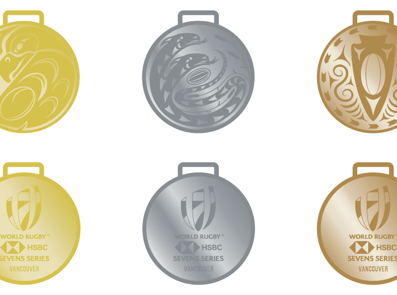 Story of the HSBC Canada Sevens 2020 Medals